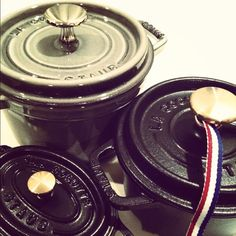 Staub cookware - Le Creuset's way cooler cousin.