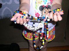 Sydney's beads of courage