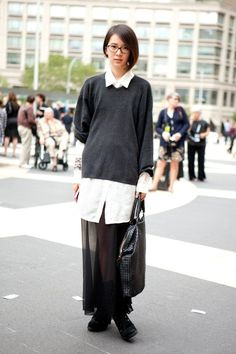 Image result for sheer skirt fashion week
