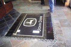 john deere floor tiles i would love to have this in my john deere kitchen.
