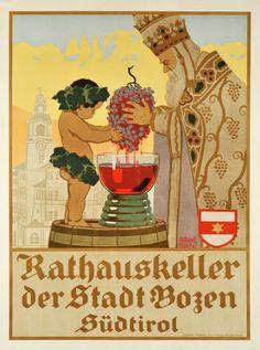 Rathauskeller der Stadt Bozen Südtirol