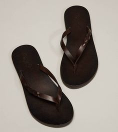 47c7b71343d AEO Braid Slides. Leather Flip FlopsMens ...