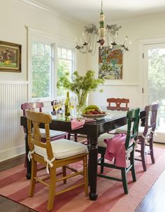50 Cool And Creative Shabby Chic Dining Rooms Prepossessing Shabby Chic Dining Room Table Decorating Design