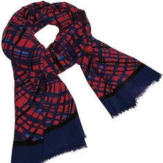 Vera Bradley soft grunge red and blue plaid scarf This is a brand new with tags Vera Bradley blue and red plaid fringe scarf. Vera Bradley Accessories Scarves & Wraps