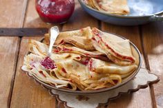 Try our classic recipe for the crepes or look for ready-to-use ones in the produce section of your supermarket.