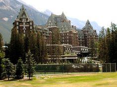 fairmont hotel, banff springs