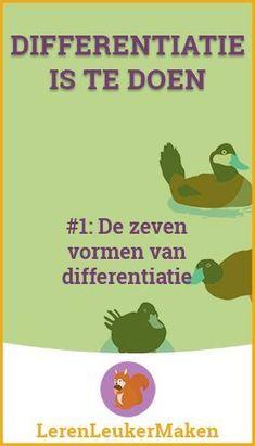 Differentiatie is te doen #1: De zeven vormen van differentiatie