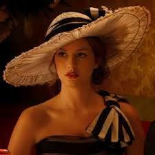 I like the hat ... blair waldorf wedding dress chuck - Recherche Google