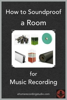 nice How to Soundproof a Room for Music Recording