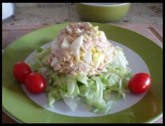 Perfect Tuna and Egg Salad (mayo free and yummy too!)