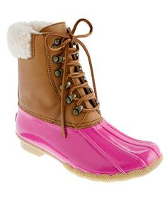 Sperry Top-Sliders for J.Crew - Best Winter Snow and Rain Boots 2012