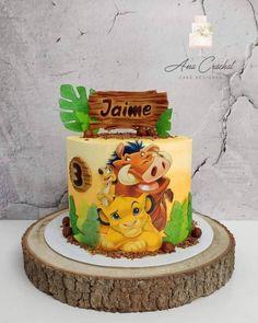 Lion King Theme, Lion King Party, Lion King Birthday, Simba Bebe, Simba Lion, Safari Birthday Cakes, 1st Birthday Parties, Pastel Mickey, Free Printable Banner Letters