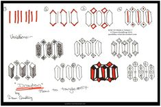 How to Draw Tangle 07  Drayton quaddles-roost  by Quaddles-Roost.deviantart.com on @deviantART