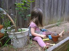 let the children play: Ideas for adding natural elements to your outdoor play space - Part 4