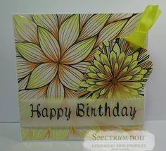New #spectrumnoircolorista foil pads & tag books - perfect for adult coloring! #spectrumnoir