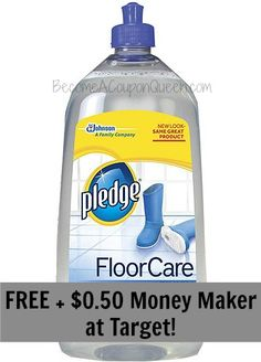 *HOT* 2 Pledge Floor Care for FREE + $0.50 Money Maker! http://becomeacouponqueen.com
