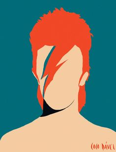 The most colorfoul collection by Coco Dávez. The faceless collection pays tribute to her idols by way of neorealistic style with a touch of pop. Art And Illustration, Portrait Illustration, Pop Art, Minimal Art, Art Visage, Faceless Portrait, David Bowie Art, Kunst Poster, Marker Art