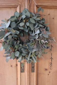 wreath krans kranz corona stoer sober landelijk wonen