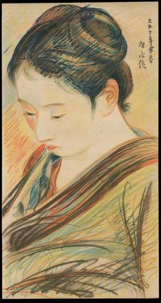 Ito Shinsui: Sketch of a Bijin (1) - Ohmi Gallery