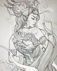 """2,922 Likes, 10 Comments - Irezumi Collective (@irezumicollective) on Instagram: """" Artwork by: Marilyn Nguyen Location: Toronto ON, Canada Artist's IG: @marilyn_tattoos…"""""""