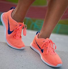My FAVORITE running shoes EVER! So comfortable, so supportive. Nike Lunar Flyknit #comfort #nike #idealshape