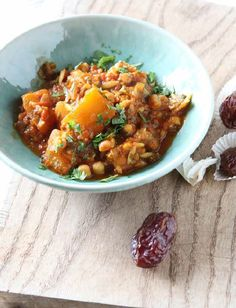 This richly spiced combination of squash, tomatoes and pulses is based around a traditional Moroccan recipe, harira. That dish is actually a soup but, whenever I make it, I find myself veering towards such a thick and chunky texture that 'stew' seems a more appropriate description. It hardly matters – it's a delicious, belly-filling, one-pot dish.