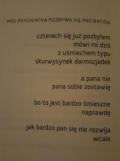 """Andrzej Kotański Tomik """"Wiersze o moim psychiatrze"""""""