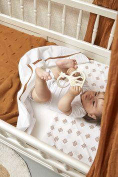 Meyco swaddle block stripe in camel Baby Room Neutral, Gender Neutral Baby, Baby Chloe, Bassinet, Camel, Toddler Bed, Baby Boy, Packing, Nursery