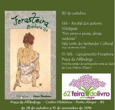 Chapar as Borboletas - Bárbara Lia: Forasteira na 62ª Feira do Livro de Porto Alegre -...