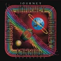 """On this day in music history: March 1980 - """"Departure"""", the sixth album by Journey is released. Iconic Album Covers, Rock Album Covers, Classic Album Covers, Music Album Covers, Music Albums, Lp Cover, Vinyl Cover, Cover Art, Lps"""