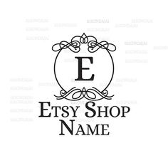 Shop Logo - Etsy Branding - Etsy Store Branding - Shop Icon - Etsy Shop Icon - Calligraphy Logo Style 4 by RhondaJai on Etsy