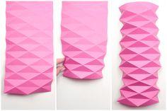 origami pot cover tutorial 3