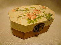Krabičky - * romantická minikrabička * - 4988342_
