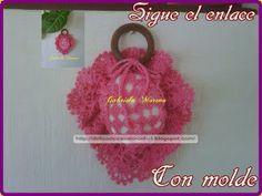 Delicadezas en crochet Gabriela: Jabonera perfumadora