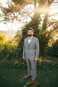 Nice groom outfit. (He takes of the jacket for most of the reception, vest underneath.) And love this photo. Mathieu Photography.