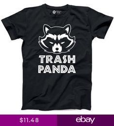 Trash Panda Tshirt Cotton New Mens Tee Funny Racoon Animal Humor T-shirt Racoon, Animal Humor, All Fashion, Mens Tees, Funny Animals, Panda, Cricut, Disney, Clothing