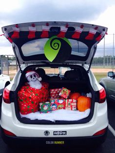 Nightmare Before Christmas trunk or treat | Holidays | Pinterest ...