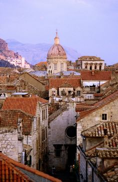 Dubrovnik's old town needs exploring...