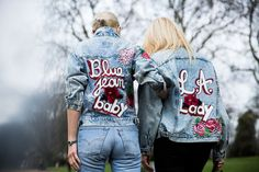 Where to Buy the Painted Denim Jacket That Street Style Stars Love   StyleCaster