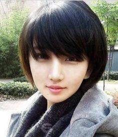 Short Asian Hairstyles for Beautiful Women