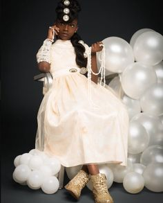 10-year-old designer stuns in new photo series.