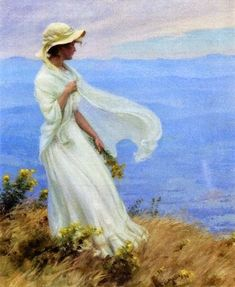 ~ Charles Courtney Curran ~ American painter, 1861-1942