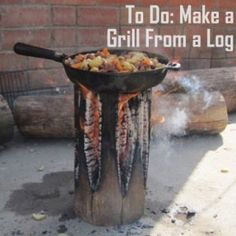 Tree Stump Grill