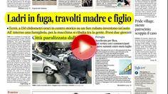 Folle fuga di un suv, panico a Terni, rassegna stampa 23 aprile 2017