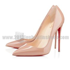 52522ef2d934 So Kate 120mm Patent Leather Nude Cheap Stores