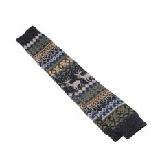 """Sunward Women Wavy Stripe Knit Deer Long Leg Warmer Socks Thigh High Stockings (Grey deer). 100% Brand new and high quality. Size:approx 60cm/23.6""""(One size fit most,stretchy). you can wear it just above the ankle or can stretch to the Knee,It can go with shorts,skirts,skinny jeans and so on. Soft and fashionable cable knit legwarmers. This adorable accessory fits loosely and is perfect for layering.,a perfect gift to yourself or friends. The necessary accessory for the winter season when..."""