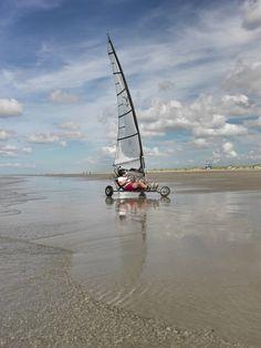 Helemaal los op Nederlands mooiste strand!