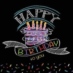 Chalkboard Birthday Lunch Napkins give your birthday party a crafty look! Chalkboard Birthday Lunch Napkins read 'Happy birthday to you' in colorful chalk. Happy Birthday Man, Happy Birthday Quotes, Birthday Messages, Happy Birthday Cards, Birthday Greetings, Birthday Lunch, Male Happy Birthday Images, Happy Birthday Wishes Cousin, Happy Birthday Writing