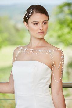 Wedding Jacket, Vintage Inspired, Wraps, Wedding Inspiration, Pearls, Wedding Dresses, Jackets, Fashion, Bride Gowns