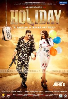 Watch Full Movie Online: Holiday - A Soldier Is Never Off Duty (2014) Watch Bollywood fullmovie online